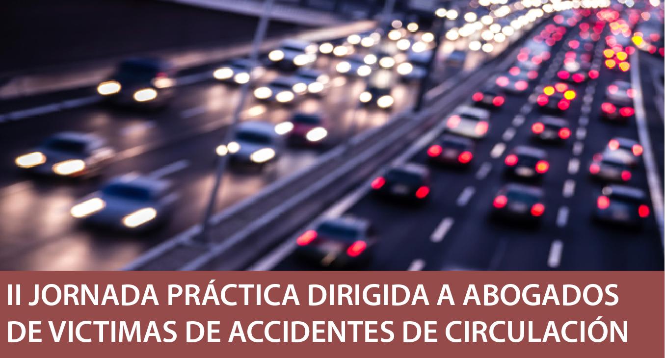 Jornada para abogados de víctimas accidentes 22 de mayo